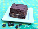 Frosted Chocolate Mint Blondies