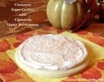 Cinnamon Sugar Cookies with Cinnamon Honey Buttercream