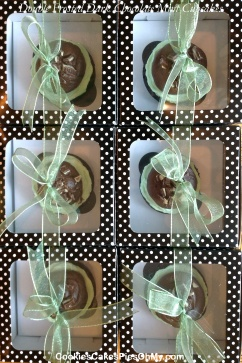 Double Frosted Dark Chocolate Mint Cupcakes 3