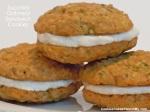 Zucchini Oatmeal Sandwich Cookies
