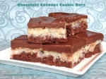 Chocolate Coconut Cookie Bars