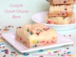 Confetti Cream Cheese Bars
