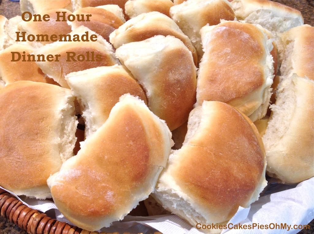 One Hour Homemade Dinner Rolls 2