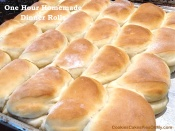 One Hour Homemade Dinner Rolls 4