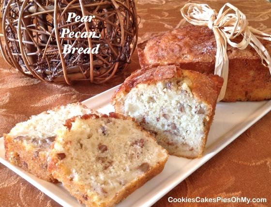 Pear Pecan Bread