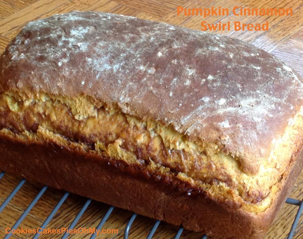 Pumpkin Cinnamon Swirl Bread 2
