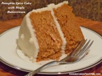 Pumpkin Spice Cake with Maple Buttercream