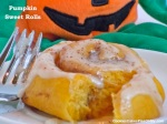 Pumpkin Sweet Rolls