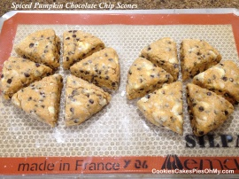 Spiced Pumpkin Chocolate Chip Scones 2