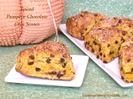 Spiced Pumpkin Chocolate Chip Scones