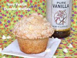 Very Vanilla Crumble Muffins