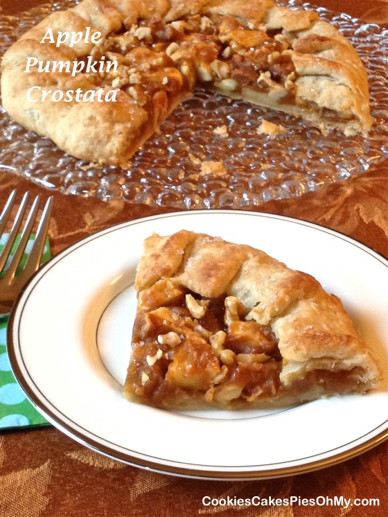 Apple Pumpkin Crostata 2
