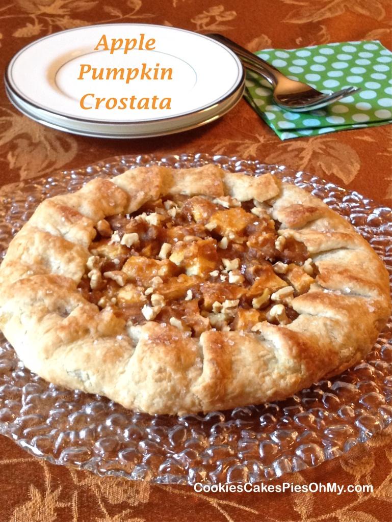 Apple Pumpkin Crostata