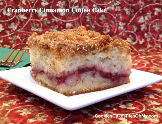 Cranberry Cinnamon Coffee Cake