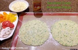 Zucchini Crust Personal Pizza 2