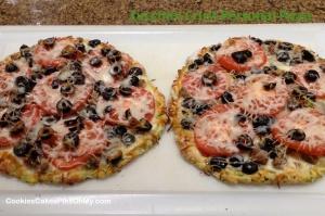 Zucchini Crust Personal Pizza 3
