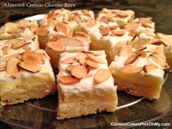 Almond Cream Cheese Bars 2