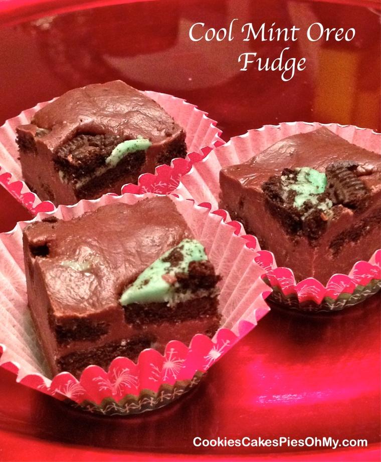 Cool Mint Oreo Fudge
