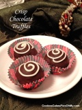 Crisp Chocolate Truffles