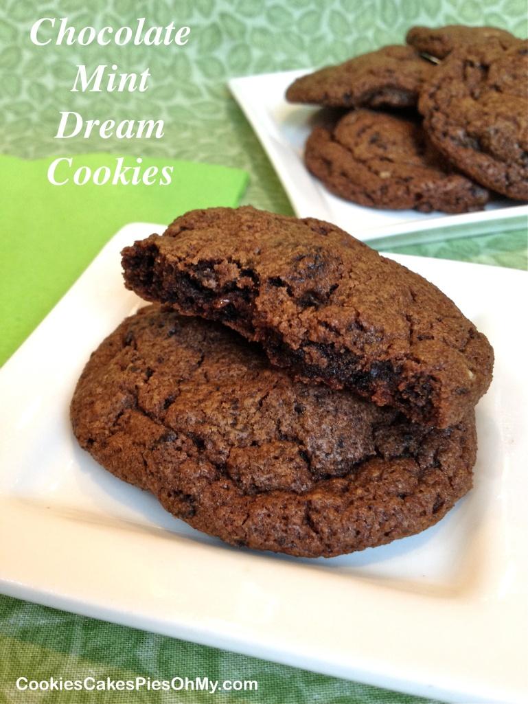 Chocolate Mint Dream Cookies