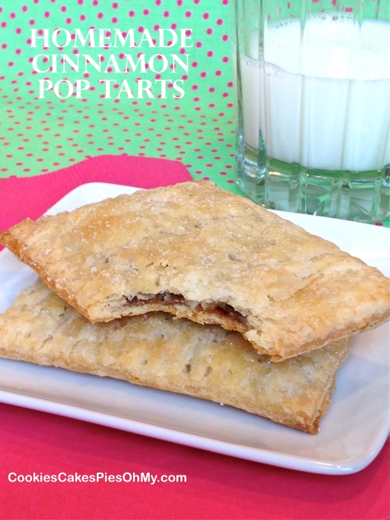 Homemade Cinnamon Pop Tarts