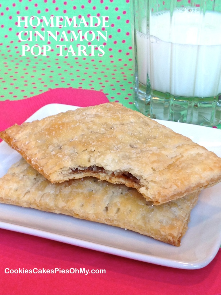 Homemade Cinnamon Pop Tarts