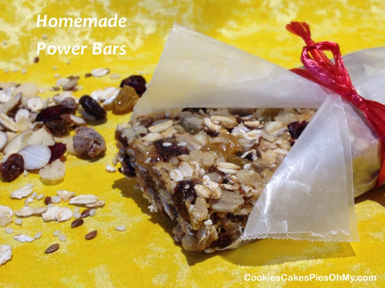 Homemade Power Bars
