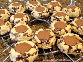 Peanut Butter Chocolate Chip Reeses Cookies 2