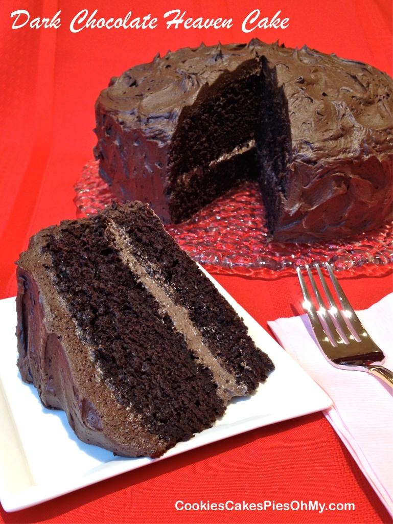 Dark Chocolate Heaven Cake