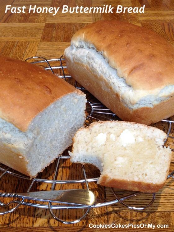 Fast Honey Buttermilk Bread