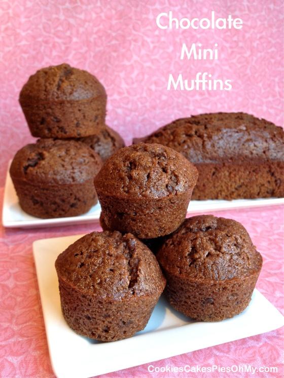 Chocolate Mini Muffins