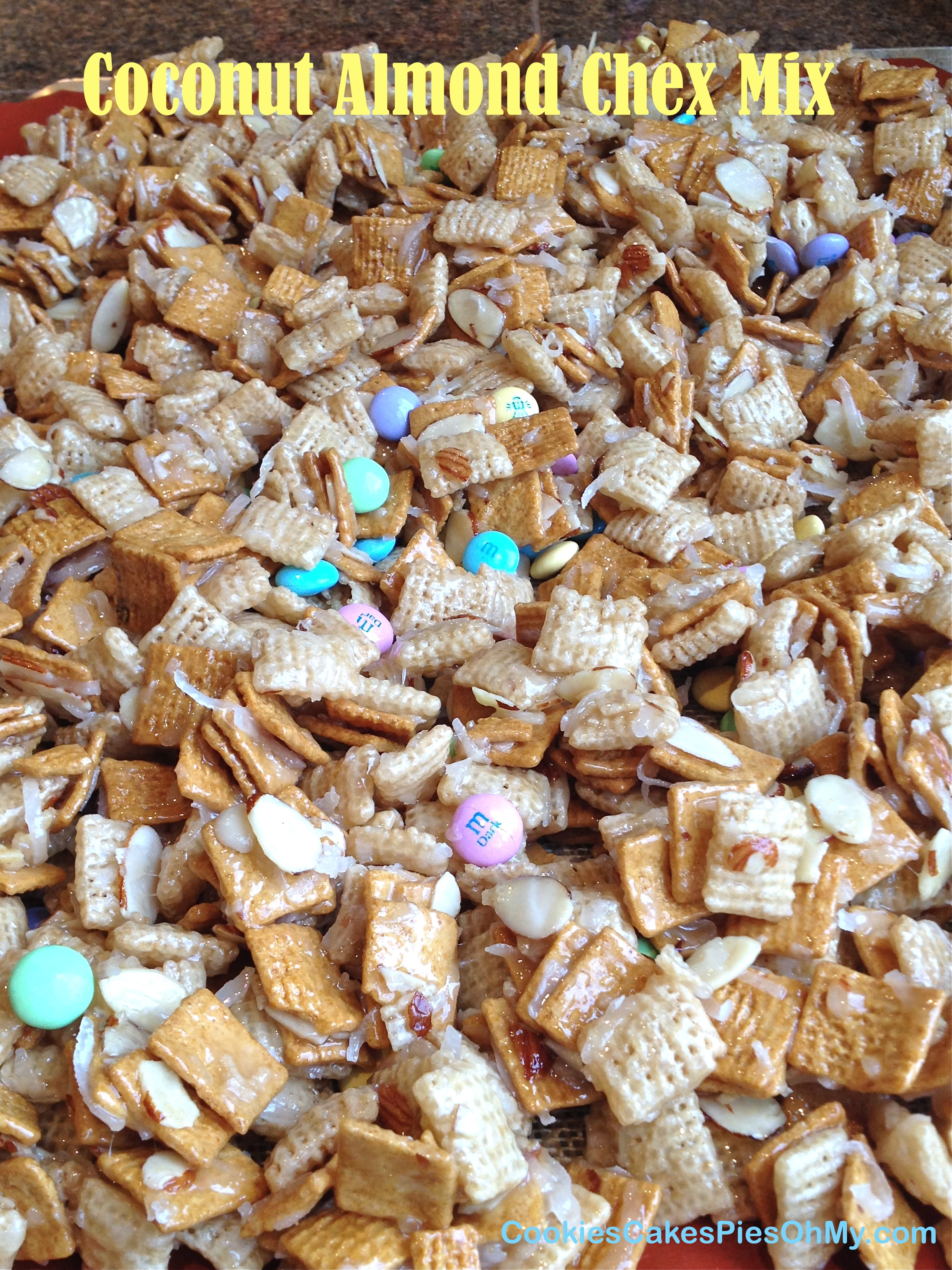 Chocolate Coconut Chex Mix Recipe — Dishmaps