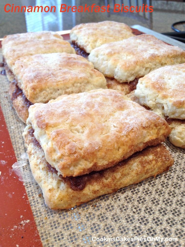 Cinnamon Breakfast Biscuits