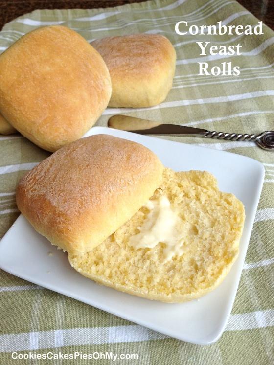 Cornbread Yeast Rolls