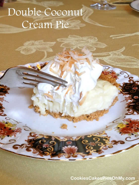 Double Coconut Cream Pie 2