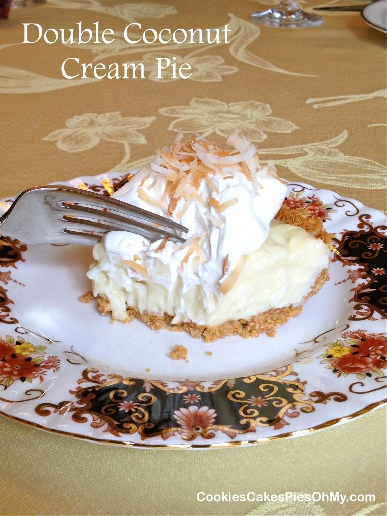 Double Coconut Cream Pie 2