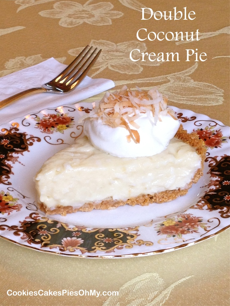 Double Coconut Cream Pie