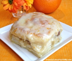 Orange Cream Cheese Sweet Rolls II
