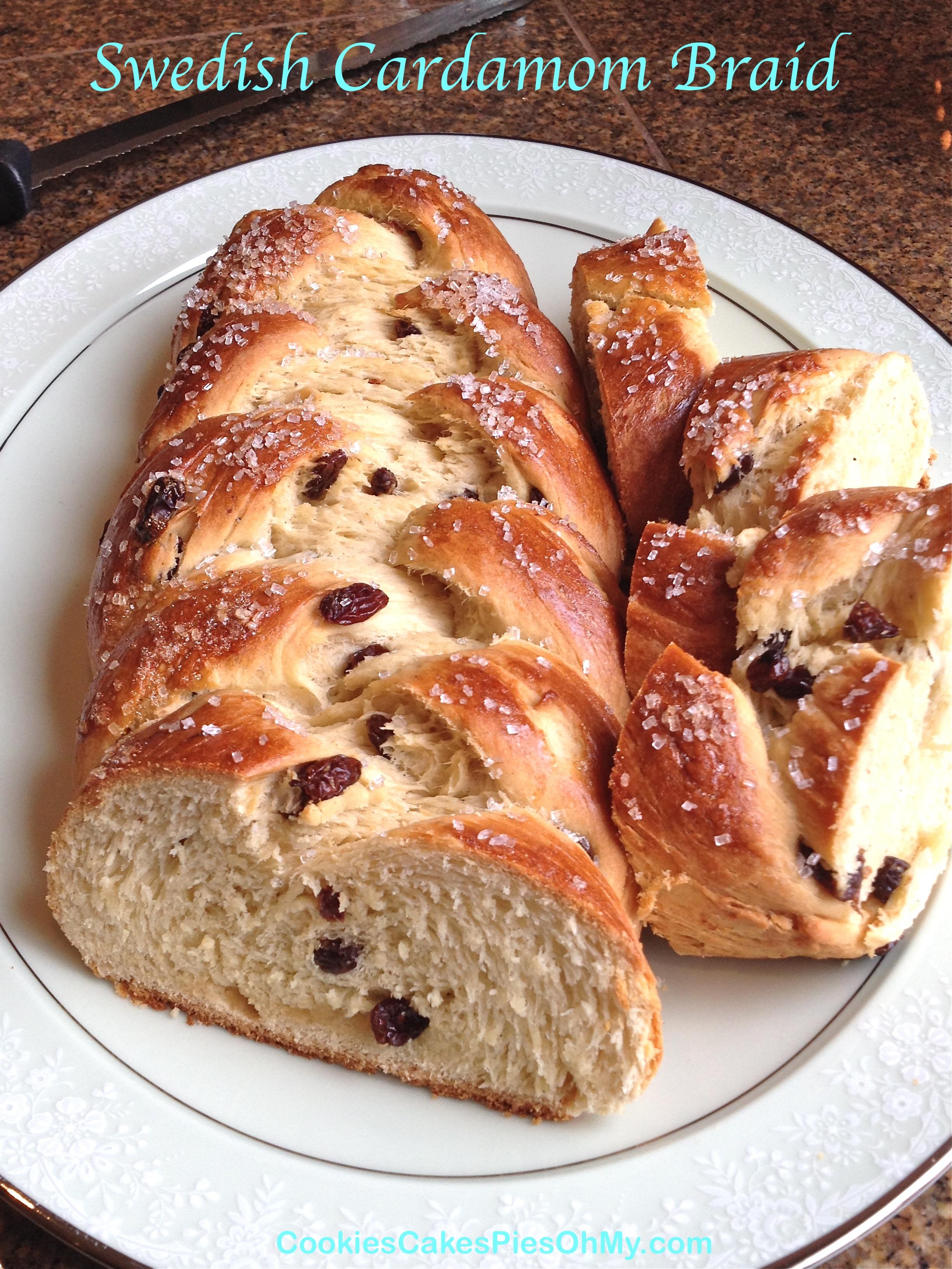 Cardamom Cake Recipe Swedish