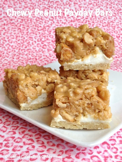 Chewy Peanut Payday Bars