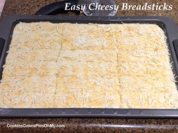 Easy Cheesy Breadsticks 1