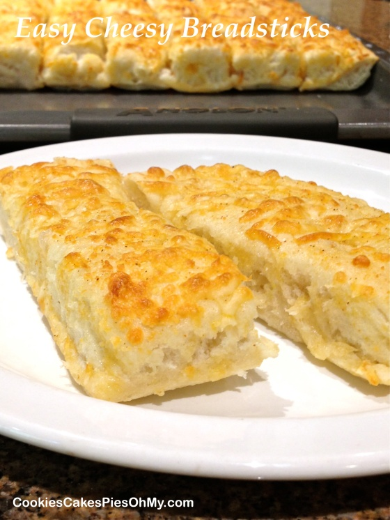 Easy Cheesy Breadsticks