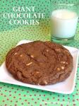 Giant Chocolate Cookies
