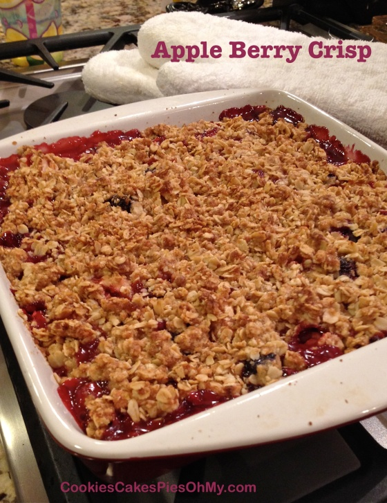Apple Berry Crisp 2