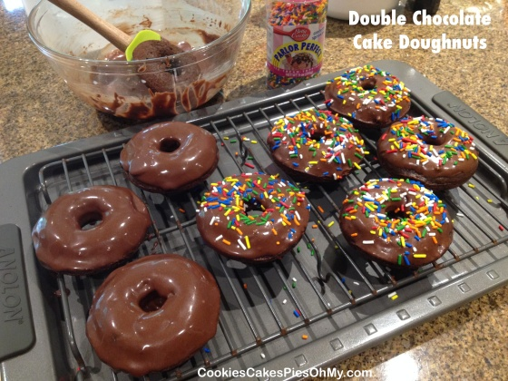Double Chocolate Cake Doughnuts 2