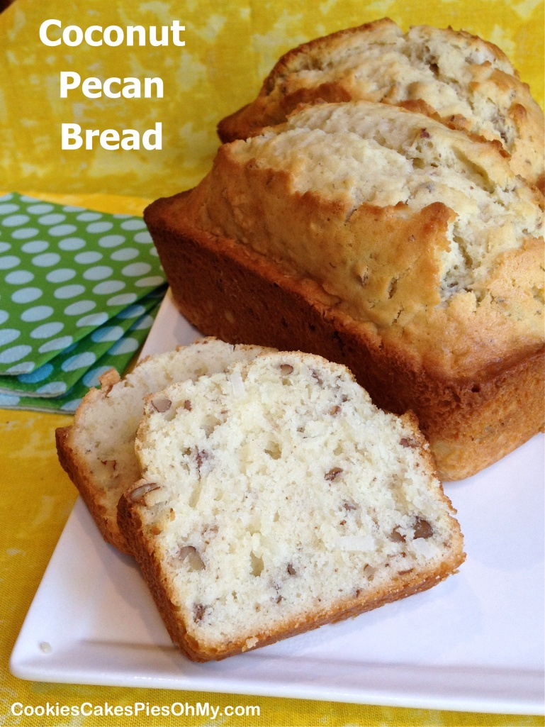 Coconut Pecan Bread