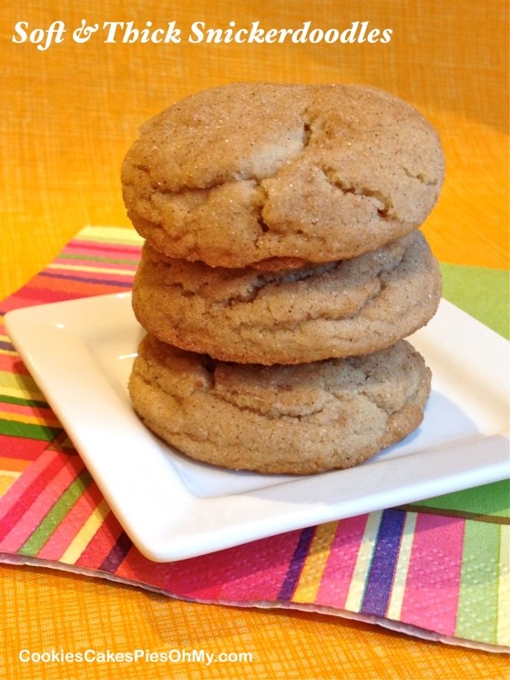 Soft & Thick Snickerdoodles 2