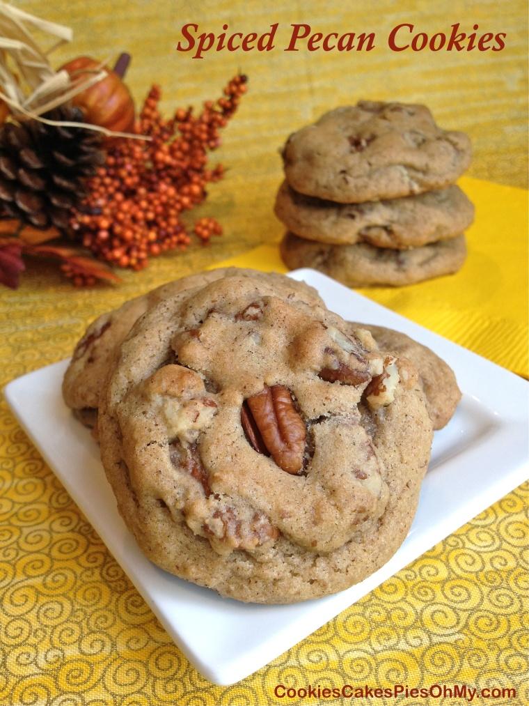 Spiced Pecan Cookies