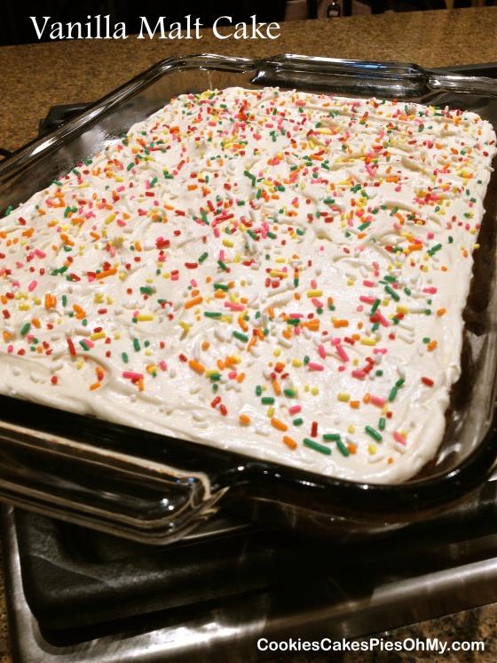Vanilla Malt Cake 2