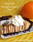 Chocolate Orange Cream Pie